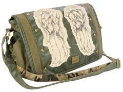 The Walking Dead Daryl's Wings Mini Messenger Bag Fatigue Green
