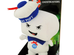 "Ghostbusters 15"" Deluxe Stay Puft Happy Plush With Sound"