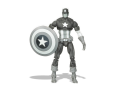 Marvel Universe Captain America (Black & White) SDCC 2009 Exclusive
