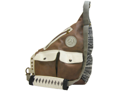 The Walking Dead Michonne's Faux Leather Sling Bag