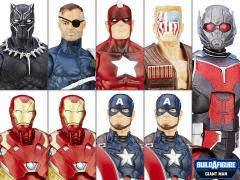 Captain America: Civil War Marvel Legends Wave 2 Case of 8 (Giant Man BAF)