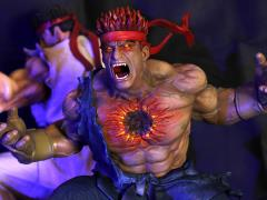 Street Fighter The Beast Unleashed 1/4 Scale Diorama - Evil Ryu