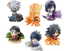 Naruto Petit Chara Land Kuchiyose Ninkai Taisen Box of 6
