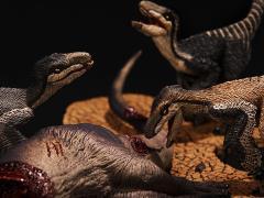 """Deinonychus antirrhopus Trio """"Cerberus Clan"""" 1/35 Scale Museum Class Replica"""