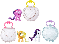 My Little Pony Friendship is Magic On The Go Purse Figure Wave 01 - Set of 3