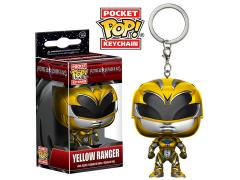 Pocket Pop! Keychain Power Rangers - Yellow Ranger