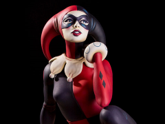 "Harley Quinn ""Waiting for My J Man"" Statue"