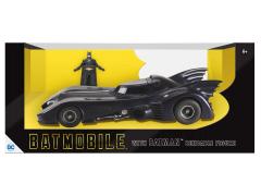 Batman 1989 Batmobile With Bendable Batman Figure