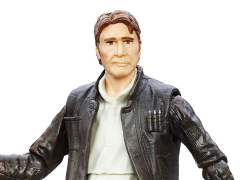 """Star Wars The Force Awakens Han Solo 6/"""" Figure #18 The Black Series New!"""