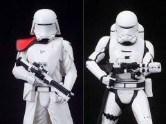 Star Wars ArtFX+ First Order Snowtrooper & Flametrooper Statue Two-Pack (The Force Awakens)