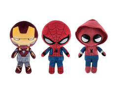 Hero Plushies: Spider-Man: Homecoming Set of 3