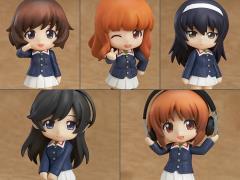 Girls Und Panzer Nendoroid Petite Ankou Team Box of 5 Figures