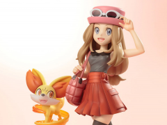 Pokemon ArtFX J Serena with Fennekin Statue