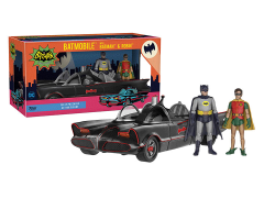 Batman Classic TV Series Batmobile With Batman & Robin