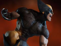 Marvel Premium Format Wolverine Brown Costume