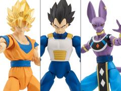 Dragon Ball Super Dragon Stars Wave A Set of 3 Figures with Shenron Components