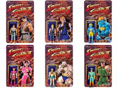 "Street Fighter II Retro 3.75"" Action Figures (Champion Edition) Set of 6 Figures"