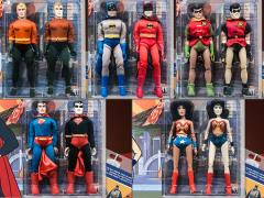 "Super Friends World's Greatest Heroes (Universe of Evil) 8"" Retro Figure Set of 5 Two-Packs"