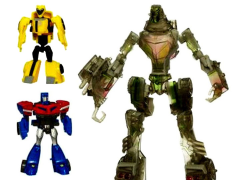 Animated Stealth Lockdown With Legends Optimus Prime & Bumblebee Exclusive