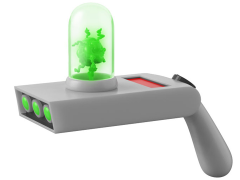 Rick and Morty Portal Gun Life-Size Replica