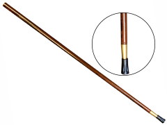 Stix Walking Stick Cane Shaft (Brown)