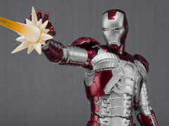 Iron Man 2 S.H.Figuarts Iron Man Mark V & Hall of Armor Set