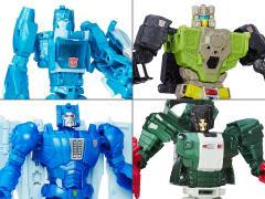 Transformers Titans Return Deluxe Wave 1 Set of 4 Figures