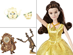 2 PACK Disney Beauty And The Beast Castle Friends Collection Action Figures NIB