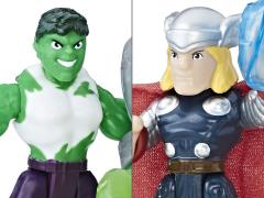 Marvel Super Hero Adventures Power Up Hulk & Thor Two-Pack