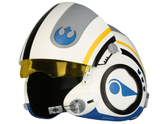 Star Wars Poe Dameron (The Force Awakens) 1:1 Scale Wearable Helmet (Blue Squadron)