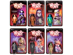 The Worst ReAction Figures Star Worst Variant Set of 6 SDCC 2017 Exclusive