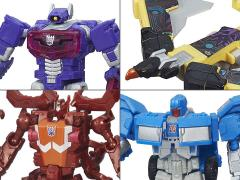 Transformers Combiner Wars Legends Wave 5 Set of 4