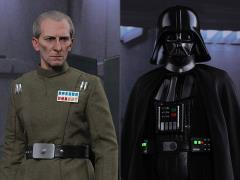Star Wars: A New Hope MMS434 Grand Moff Tarkin & Darth Vader 1/6th Scale Collectible Figure Set