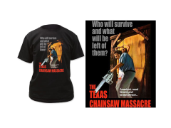 Texas Chainsaw Massacre Bizarre & Brutal Crimes! T-Shirt
