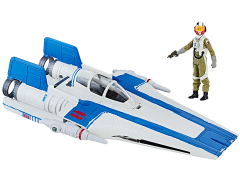 "Star Wars Force Link Resistance A-Wing Fighter and Pilot Tallie 3.75"" Deluxe Set (The Last Jedi)"