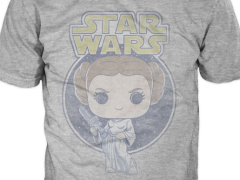 FUNKO POP M LG XL~ UNISEX  NWT TEES T-SHIRT STAR WARS PRINCESS LEIA~ SIZE