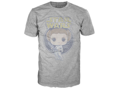 Pop! Tees: Star Wars - Princess Leia Retro