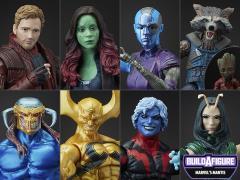 """Marvel Legends 6/"""" GAMORA Figure Guardians of the Galaxy Mantis BAF"""