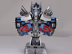 Transformers Optimus Prime Bust 3D Metal Puzzle Model Kit