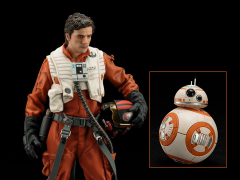 Star Wars ArtFX+ Poe Dameron & BB-8 Statue Set (The Force Awakens)