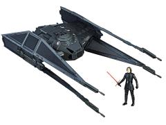 """Star Wars Force Link Kylo Ren's TIE Silencer & Kylo Ren (TIE Pilot) 3.75"""" Figure"""