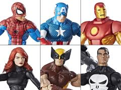 Marvel Legends Retro Collection Wave 1 Set of 6 Figures