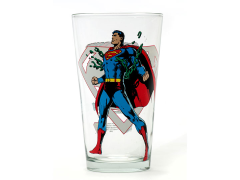 DC Comics Toon Tumblers Superman Pint Glass