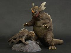 Godzilla Toho Daikaiju Series Baragon & Varan (Destroy All Monsters) PX Previews Exclusive
