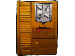 The Legend of Zelda Gold Cartridge Throw Blanket