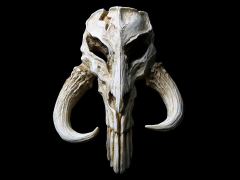 Star Wars Mandalorian Skull Mini Sculpture