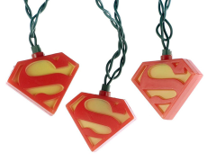 Superman Logo Ten-Light Set