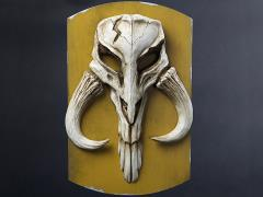 Star Wars Mandalorian Skull Plaque