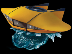 Voyage to the Bottom of the Sea Flying Sub Deluxe Replica