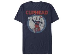 Cuphead Vintage Circle T-Shirt